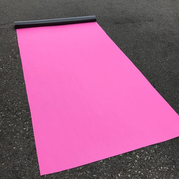 ビニールマット ピンク ダイヤ 画像