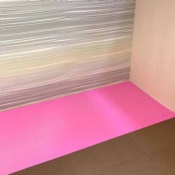 ピンク マット 使用画像