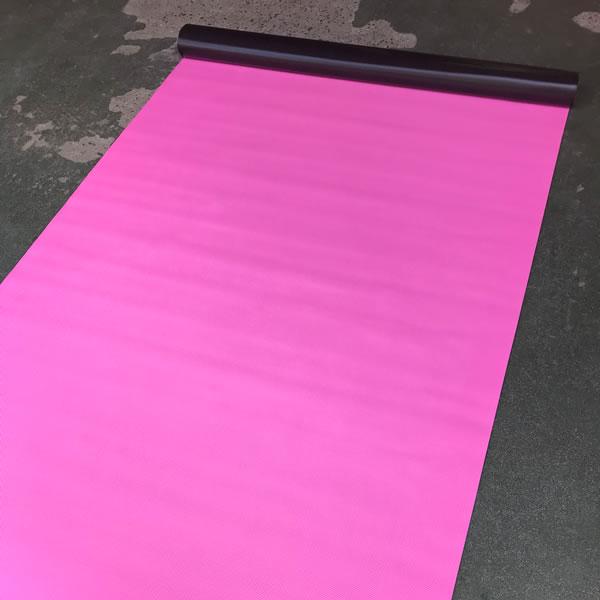 ビニールマット ピンク 小ピラ 画像